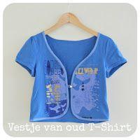 By MiekK: Oud T-Shirt wordt Vestje - Tutorial
