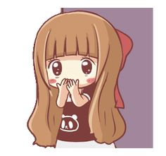 LINE Creators' Stickers - Centilia Animated Sachet 2 Example with GIF Animation Cute Cartoon Images, Cute Cartoon Girl, Cute Love Cartoons, Cartoon Gifs, Anime Girl Cute, Good Morning Cartoon, Fille Anime Cool, Emo Wallpaper, Chibi Couple