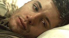 Sleepy Dean gif  <3 <3 <3 HE. IS. A. GOD.  <--- I wouldn't mind waking up to that looking at me...