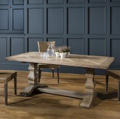 Hamilton Pedestal Dining Table 2000mm Made Using Mindy Ash Solids And  Architectural Veneers £1,622.50