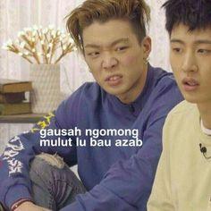 New funny jokes quotes faces ideas New Funny Jokes, Memes Funny Faces, Funny Kpop Memes, Cartoon Memes, Funny Facts, Work Jokes, Work Humor, Kim Jinhwan, Hanbin