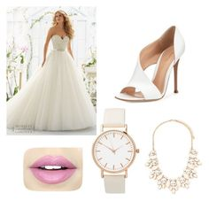 """Wedding"" by miaaa1-1 on Polyvore featuring beauty, Gianvito Rossi, Forever 21 and Fiebiger"