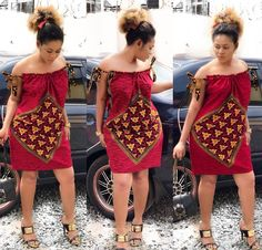 african dress styles This beautiful dress is handmade with love to fit buyer's exact measurements. * It is fully lined with zipper closure at the back. It takes business days t African Party Dresses, Short African Dresses, Ankara Short Gown Styles, African Print Dresses, Dress Styles, Short Dresses, Kente Styles, African Prints, African Fashion Ankara