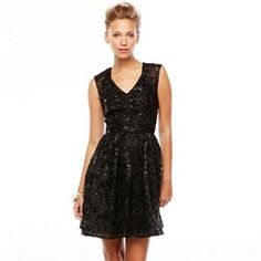 1 by 8 Embellished Lace Fit & Flare Dress - Shop online at Kohl's through Zoola and get #cashback!