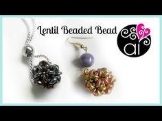 "Tutorial perline: sfera rivestita ""Twist""con superduo|Beading tutorial:""Twist"" beaded bead - YouTube"