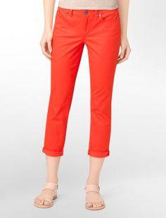 firecracker powerstretch skinny crop jeans - Power stretch- Calvin Klein