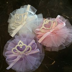 Tiara hair clips  New instock on Monday $6.00 each