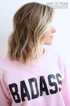 BADASS HAIR. Cut/Style: Anh Co Tran • IG: @anhcotran • Appointment inquiries please call Ramirez|Tran Salon in Beverly Hills at 310.724.8167.