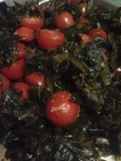 Sweetened Collard Greens