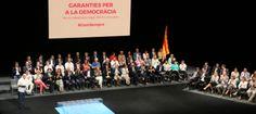 Conjurats pel referèndum vinculant amb un eloqüent crit de 'president, president…' | VilaWeb