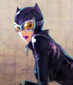 """league-of-extraordinarycomics: """"Catwoman by 89G """""""