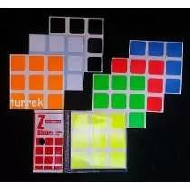 Adesivo Para Cubo Mágico Marca Z Super Bright Vem 1 Cor A +