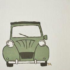🤍Toys Again 🤍 Uniek handgeschilderd schilderij op een houten paneel. Bij onze schilderijen kun je geheel gratis zelf bepalen welke voor- en achtergrondkleur je wilt. Maak een keuze uit ons kleurenpalet zodat de schilderijen mooi bij jouw interieur passen.🤎🤎 Alles wordt gratis geleverd! Car, Everything, Automobile, Autos, Cars
