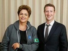 RetaFinal.blogspost.com: G1 - Dilma se encontra com criador do Facebook no ...