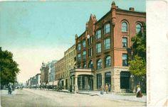 Muskegon Michigan Western Avenue Postmarked 1910 Vintage Postcard | eBay