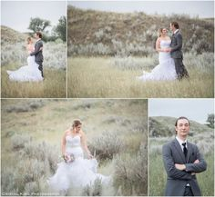 Bride, Groom, Trumpet style wedding dress, real wedding, Cristal King Photography, ck1photos, Medicine Hat wedding photographer