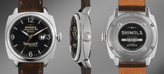 """Shinola Launches """"Great Americans Series"""" With Wright Brothers Limited Edition Watch & Bicycle"""