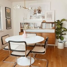 We all know furniture can make or break a room. With that in mind, today we're presenting the best of minimalist furniture pieces to add to your dining room without loosing that fabulous and extravagant feeling to it. Decor, Minimalist Furniture, Home And Living, Interior, Dining Room Makeover, Home Decor, House Interior, Dining, Apartment Decor