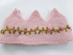 Felted Wool Crown Birthday Dress Up Waldorf by greenmountain, $15.00