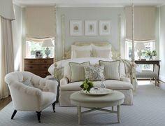 A perfect serene bedroom