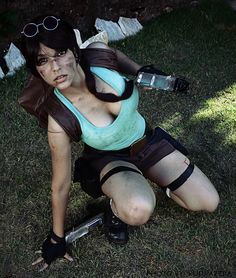 Character: Lara Croft / From: Eidos Interactive & Square Enix's 'Tomb Raider' Video Game Series / Cosplayer: Shermie Cosplay