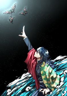 Tomioka Giyuu - Kimetsu no Yaiba - Image - Zerochan Anime Image Board All Anime, Anime Manga, Anime Guys, Anime Art, Cute Anime Boy, Kawaii Anime Girl, Dragon Tales, Fanart, Deadman Wonderland