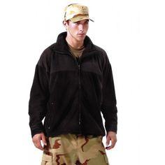 Black ECWCS Polar Fleece Jacket/Liner