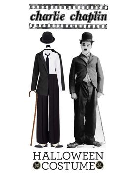 """Charlie Chaplin"" by ittie-kittie ❤ liked on Polyvore featuring A.L.C., Nine West, Miss Selfridge, Calvin Klein, Halloween, Halloweenparty, halloweencostumes and charliechaplin"