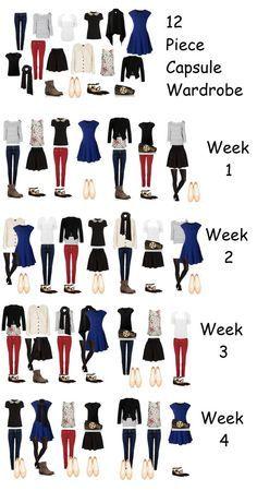 Constituer une garde robe fonctionnelle (Garde-robe capsule