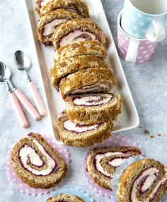 Runebergin rulla | Meillä kotona Baking Recipes, Cake Recipes, Just Eat It, Cake Bars, Sweet And Salty, Yummy Cakes, No Bake Cake, Food Inspiration, Baked Goods