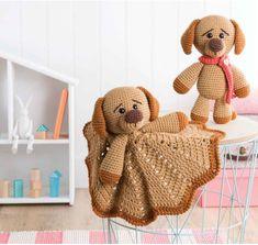 Dylan the Dog Amigurumi Crochet Pattern
