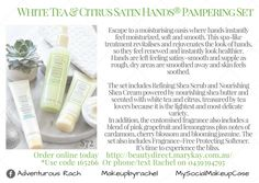 Mary Kay Satin Hands Pampering Set.