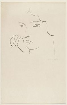 Pensive Woman  Henri Matisse (French, 1869-1954)