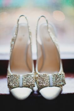 Pretty perfect shoes for a NY's Eve Wedding! Photography by taylorlordphotography.com