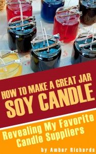 Check out this cool #ebook to teach you how to make amazing jar #soy #candles at home.