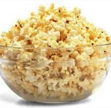 salt and vinegar popcorn... if you're not already eating this, you're insane!