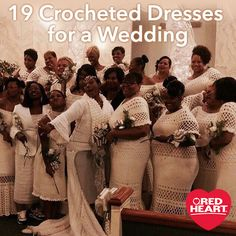19 Crocheted Dresses