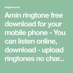 listen to my heart beat ringtone