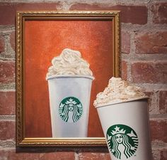 The Real PSL Returns for an Exclusive Interview   Starbucks Newsroom - Pumpkin Spice Latte - reflection.