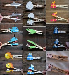 Clothespin crafts                                                                                                                                                                                 More