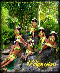 The ladies of Polynesian Proud Productions. Photo by Jim Measel