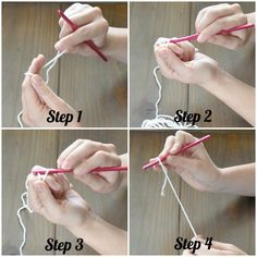 DIY Crochet Stitches Learn To Crochet Basic Slip Stitches