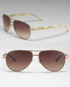 The sunglasses Matt got me for our first anniversary! I just love them. Aviators are back! The ralph Lauren ones are really comfortable and fit on all different frames of face. Thanks Hubby!