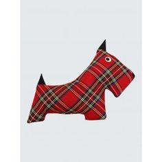 Harry Barker red plaid scottie dog toy | Draper James | Reese Witherspoon | Gifts under $50