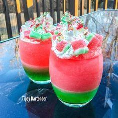 The Frozen Watermelon! For more delicious drinks and recipes, visit us here: www.TipsyBartender.com