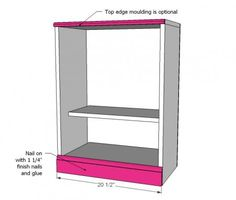 18 Inch Doll Closet Plans