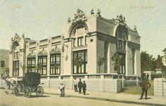 Iasi - Beraria Bragadiru - 1907 Bucharest, Beautiful Buildings, Past, Places To Visit, Louvre, Fire, Urban, Pictures, Travel