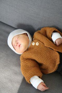 les tricots de Granny: gilet naissance