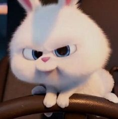 Se quando vengo da te a trovarti nn smetti di giocare mi arrabbio..... Disney Phone Wallpaper, Wallpaper Iphone Cute, Cartoon Icons, Cartoon Memes, Cartoons, Snowball Rabbit, Cute Bunny Cartoon, Rabbit Wallpaper, Cute Love Memes