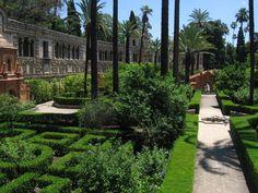Los Reales Alcazares, Sevilla